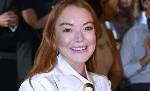 Kuvassa Lindsay Lohan kuvattuna syyskuussa 2017.