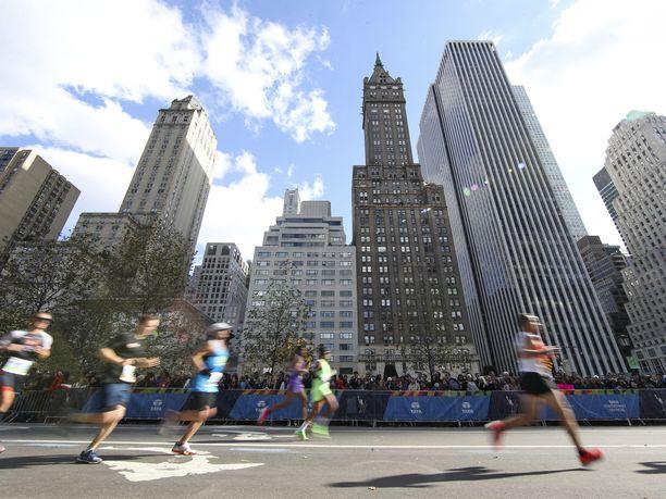 New Yorkin maraton juostaan tavallisesti marraskuun alussa.