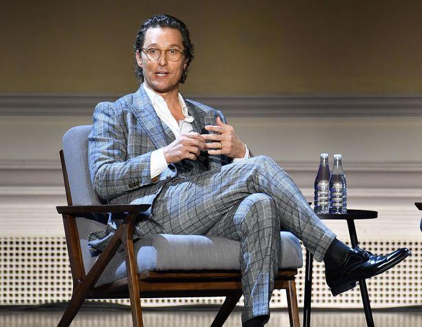 Matthew McConaughey on Oscar-palkittu amerikkalainen näyttelijä. Hän on kotoisin Teksasista.