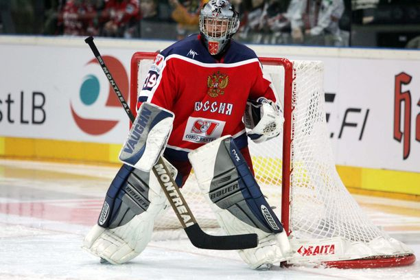 Maksim Sokolov torjui Venäjän maalilla muun muassa Torinon olympialaisissa.