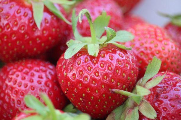 Kotimaisia mansikoita ei tarvitse pestä ennen pakastusta.