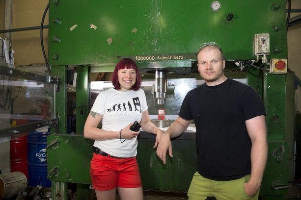Anni ja Lauri Vuohensilta ovat ensimmäisiä Shorty-gaalassa ehdolla olleita, ja voittaneita, suomalaisia.