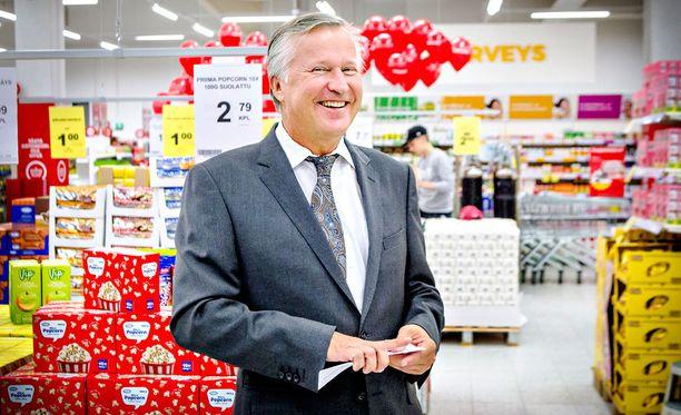 Toimitusjohtaja Heikki Väänänen jättää Tokmannin 30.9.2017 mennessä.