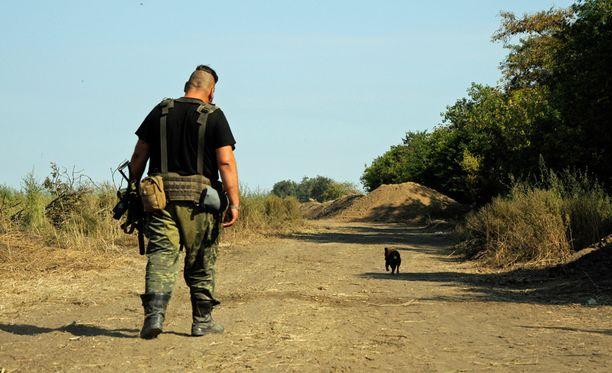 Ivan on kotoisin Donetskista. Hän lähti kotikaupungistaan reilu vuosi sitten.