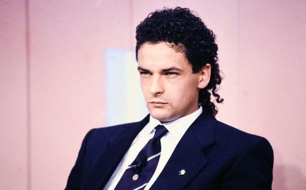 Roberto Baggio ja kuuluisat kiharat.
