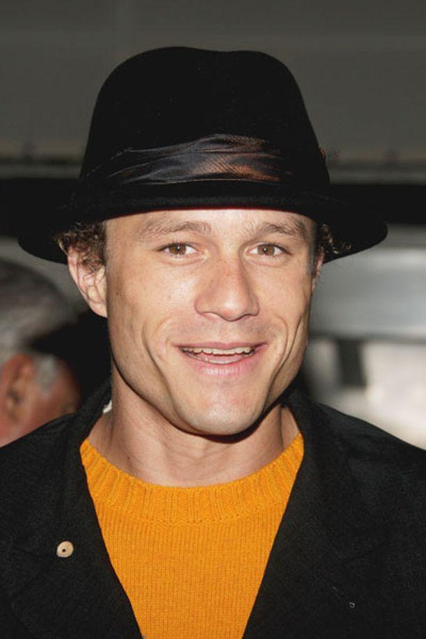 ARVOSTETTU LAHJAKKUUS Heath Ledger oli arvostettu näyttelijä, jota pidettiin yhtenä Hollywoodin suurista nuorista tähdistä.