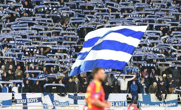 Suomi hävisi Romanialle EM-karsinnan kotiottelussaan maalein 0-2.