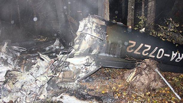 Venäjän tutkintakomitea on julkaissut kuvia 3. lokakuuta tapahtuneesta helikopterionnettomuudesta.