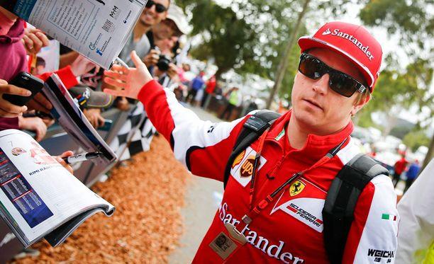 Kimi Räikkönen on nyt Australiassa, mutta vappuna hänet nähdään Unkarissa.