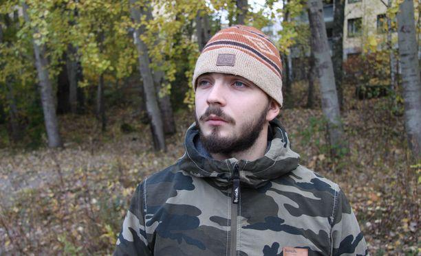 Petteri Kääpä työskenteli palkkasotilaana Ukrainassa Azovin pataljoonassa.
