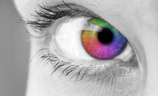 Onko sinulla huippuluokan värisilmä?