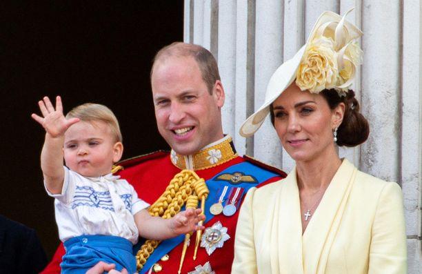 Prinssi Louis on perheensä kuopus. Kuva viime kesältä.