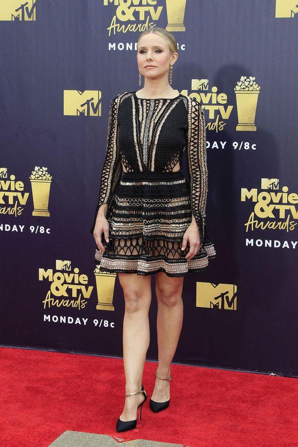 Kahden lapsen äiti Kristen Bell paljasteli elegantilla tavalla.