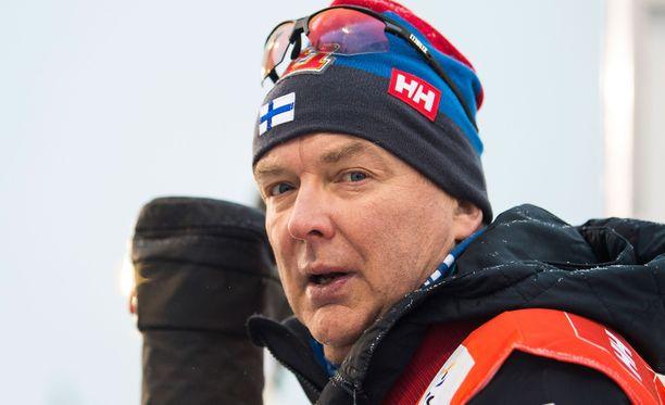 Reijo Jylhäkin hämmästyi Johannes Hösflot Kläbon vauhdista.