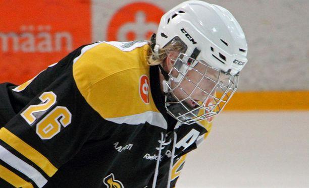 Aleksi Heponiemi edusti Ilvestä ennen kuin siirtyi WHL:ään.