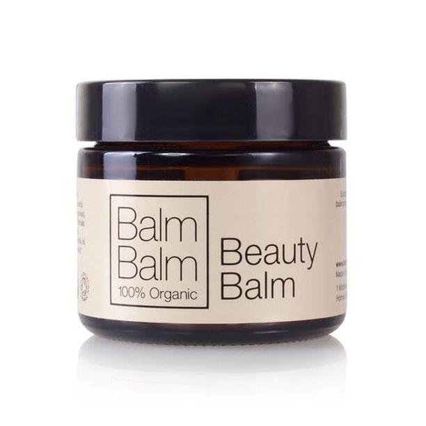 Balm Balmin Beauty Balm muuntuu sekä naamioksi että kuorintavoiteeksi.