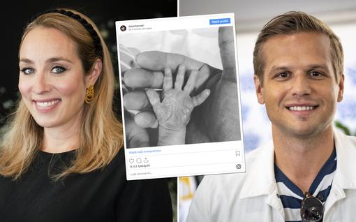 """Anni Hautalan ja Hovimuusikko-Ilkan vauva syntyi, päivityksestä välittyy riemu: """"Äiti ja vauva voivat hyvin!"""""""