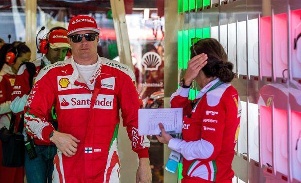 Kimi Räikkönen ei pitänyt perjantaivauhtia katastrofaalisena.