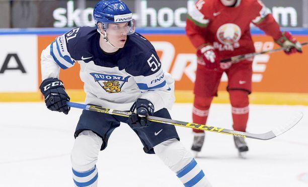 Tomi Sallinen edusti Suomea viime MM-kisoissa, joissa Leijonat saavutti hopeaa.