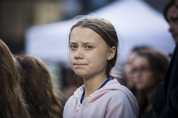 Greta Thunberg sai kyydin Espanjaan.