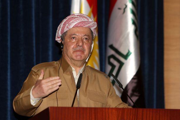 Irakin Kurdistanin johtaja Masud Barzani julisti kansanäänestyksen alueen itsenäisyydestä syyskuulle.