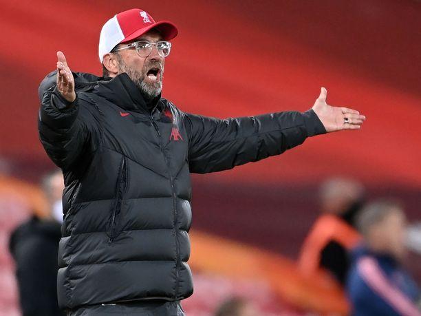 Jürgen Kloppin Liverpool saattaa kyykätä lauantaina.