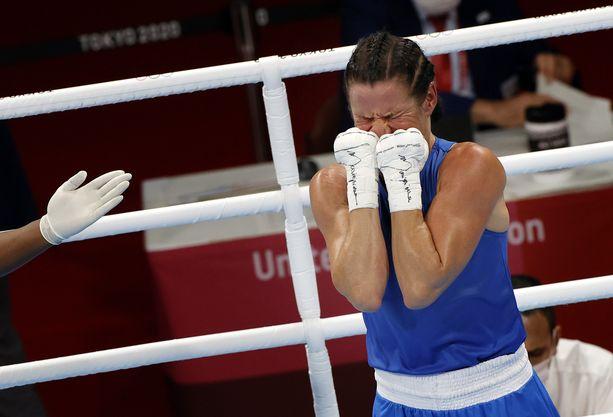 Mira Potkosesta tuli kaksinkertainen olympiamitalisti.
