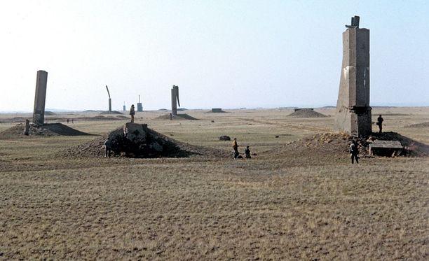 Semipalatinskin ydinkoealue rakennettiin vankityövoimalla. Alue on kooltaan 18 000 neliökilometriä.