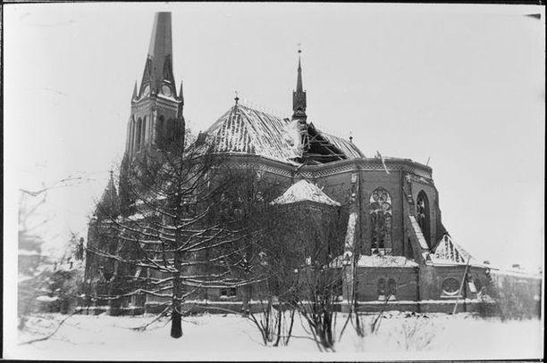 Arkkitehti Eduard Dippellin suunnittelema Viipurin uusi tuomiokirkko valmistui vuonna 1893.