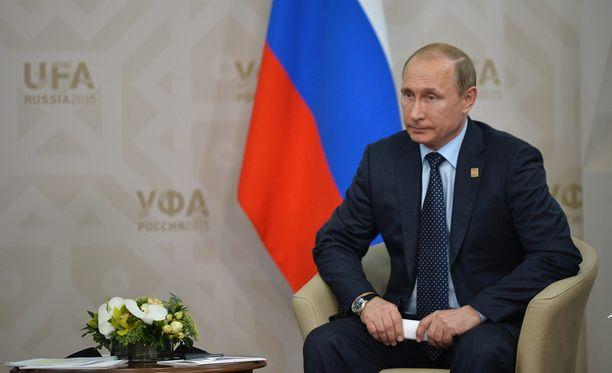Venäjän presidentti Vladimir Putin otti kantaa Kreikan kriisiin Ufassa.
