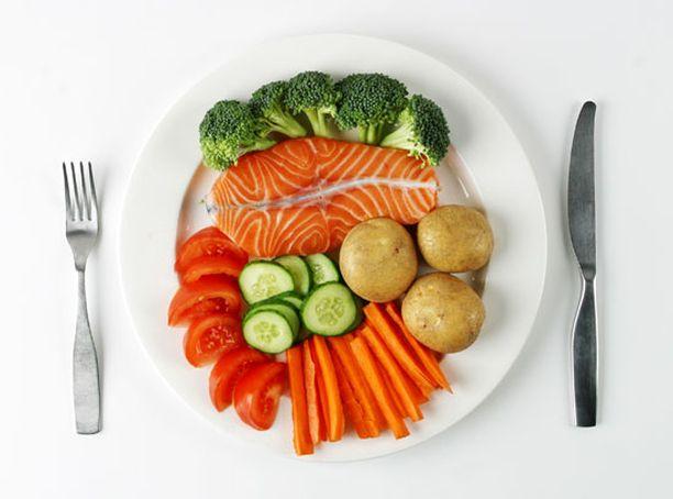 Riskiä pienentää ruokavalio, jossa on runsaasti kalaa, pähkinöitä, tomaatteja ja muita vihanneksia, siipikarjaa ja hedelmiä.
