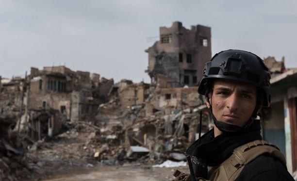 Kuvituskuva, irakilainen sotilas.