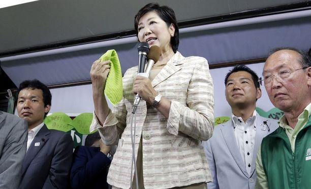 Yuriko Koike on Tokion uusi pormestari.