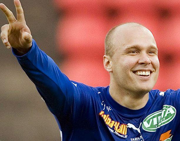 TamU:n Ville Lehtinen iski kauden seitsemännen maalinsa.