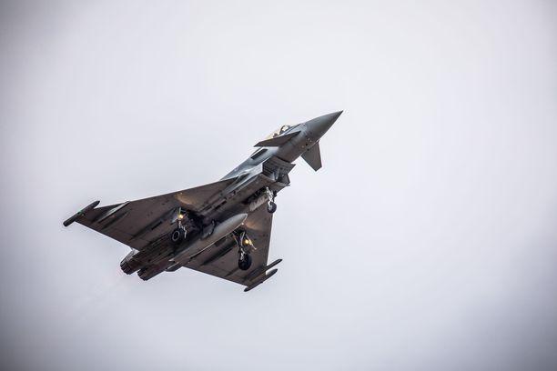 Typhoon on hävittäjäkilpailussa mukana oleva yhteiseurooppalainen hävittäjä.