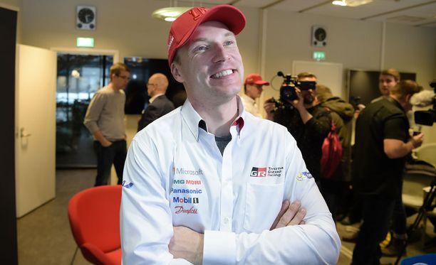 Jari-Matti Latvalalla sujuu Monte Carlossa.