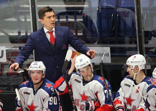 Igor Nikitin oli viime kaudella Moskovan TsSKAn penkin takana.