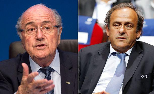 Sepp Blatterille ja Michel Platinille vaaditaan rangaistuksia.