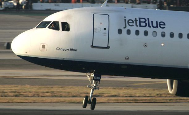 Kukaan ei valittanut JetBluen lennolla, vaikka lapset itkivät.