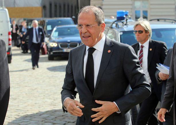 Venäjä tekee korkean tason valtiovierailun Suomeen, kun ulkoministeri Sergei Lavrov tapaa Erkki Tuomiojan ja Sauli niinistön. Arkistokuva.