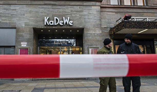 Klaanit tekivät näyttävän ryöstön KaDeWe-tavarataloon joulukuussa 2014.