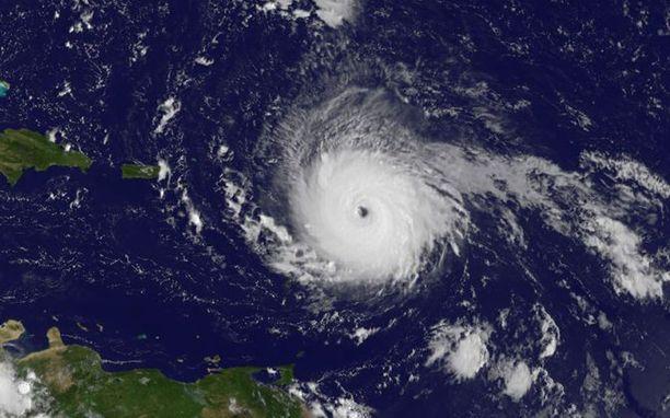 Nasa julkaisi kuvaa Irmasta, joka on kategoria viiden hurrikaani.