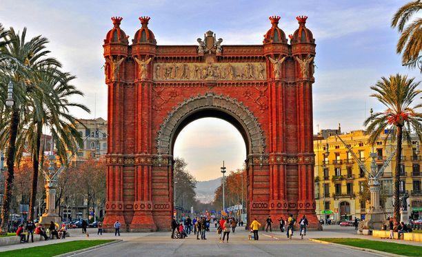 Barcelona on houkutteleva lomakohde tammikuussakin.
