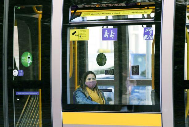 Koronavirus kurittaa Irlantia EU:n alueella rankimmin. Kuva Dublinista.