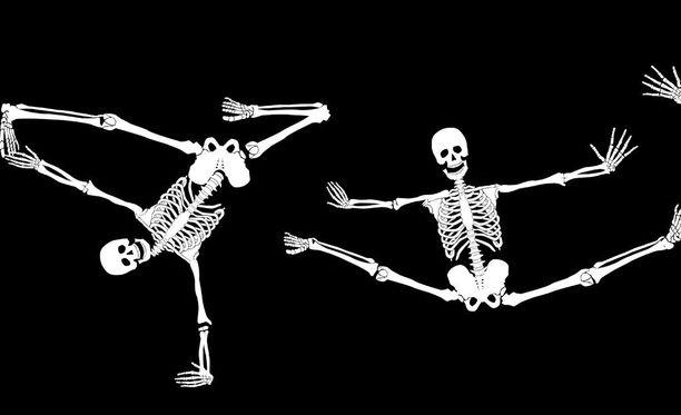 Liikunta tekee hyvää luustolle vanhuuteen asti.