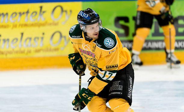 Markus Jokinen teki voittomaalin.