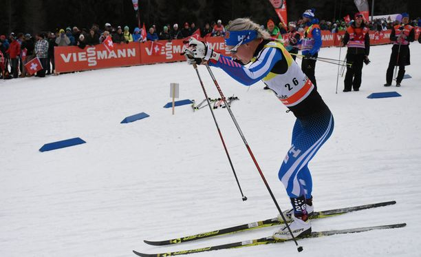 Anne Kyllönen oli parhaana suomalaisena neljäs Tour de Skin toisella etapilla.
