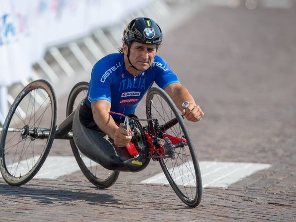 Alex Zanardi on tehnyt vakuuttavan uran paraurheilun parissa.
