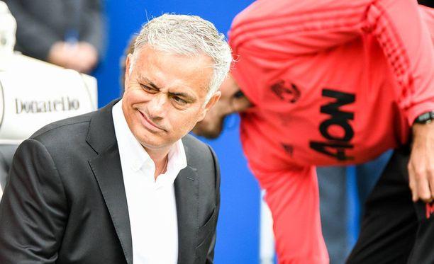 Jose Mourinho ei taida saada Manchester Unitedia sykkimään.
