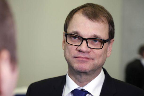 Pääministeri Juha Sipilä (kesk) ei ollut torstaina iltapäivällä tietoinen, että Tampereella teollisuustyöntekijät lakkoilevat hänen hallituksensa politiikkaa vastaan.